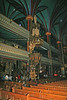 Pulpit area in Basilica de Notre Dame, Montreal.