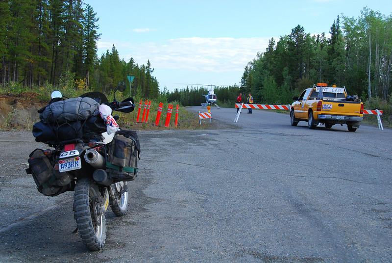 Cassiar Hwy closure due to forest fire