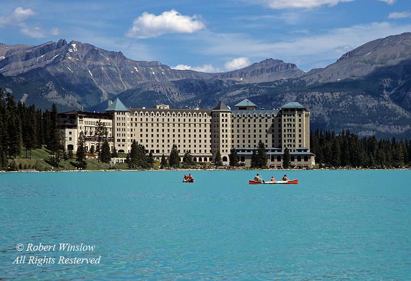 Chateau Lake Louise, Lake Louise, Banff National Park, Alberta, Canada, North America