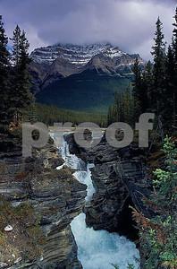 Athabasca Falls b