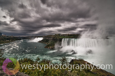 Storm over the Falls