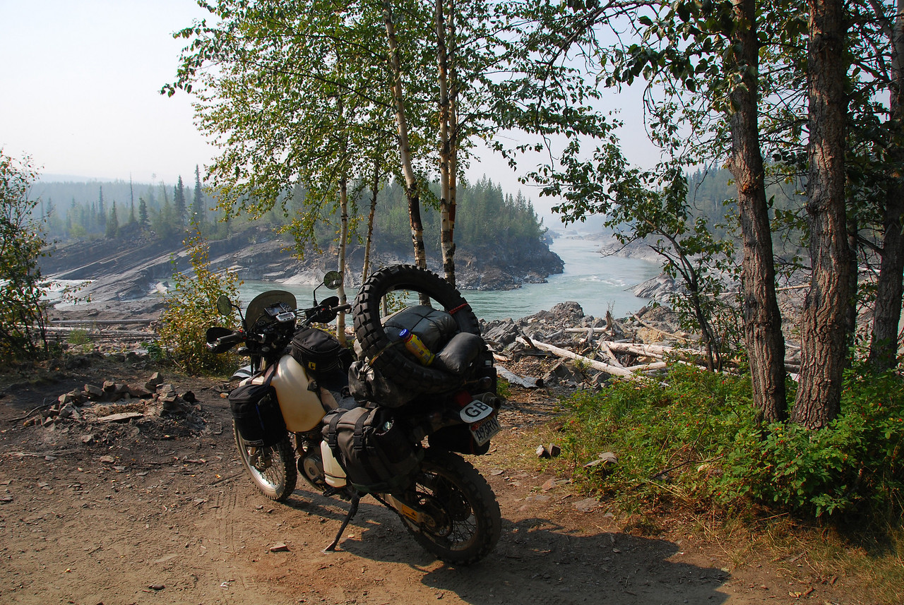 Liard River,  Alaska Hwy,  Whitehorse-Watson Lake,  Yukon