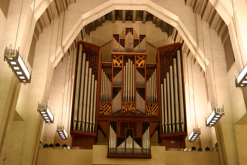 Organ pipes of Oratorie of St Joseph, Montreal.