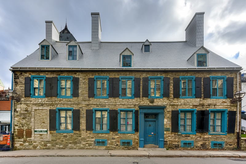 Historic Maillou House - Quebec, Canada