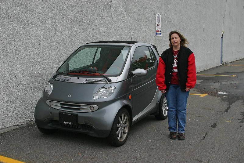 Smart car.  Not very big, are they?