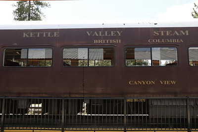 Kettle Valley Steam Train, BC Can 4549