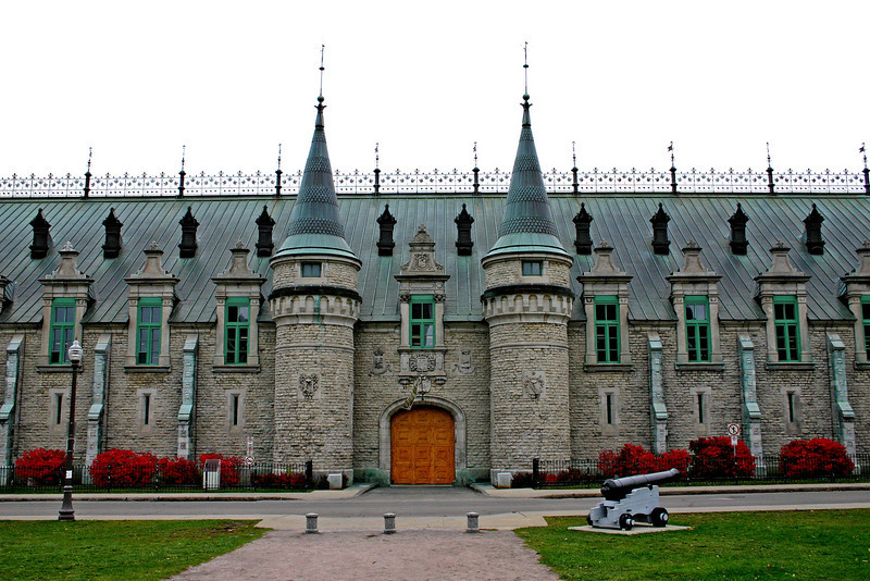 Quebec City, Canada.  This is a Canadian Defense Forces structure right outside old town Quebec City.