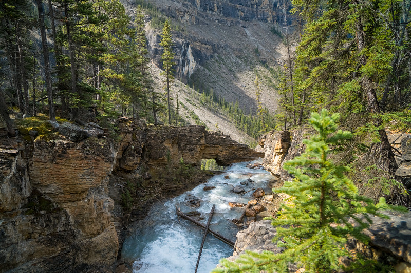 Stanley Falls Trail, Banff National Park, Alberta, Canada
