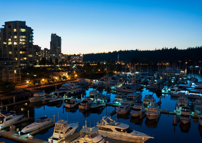 VancouverHarborSunset
