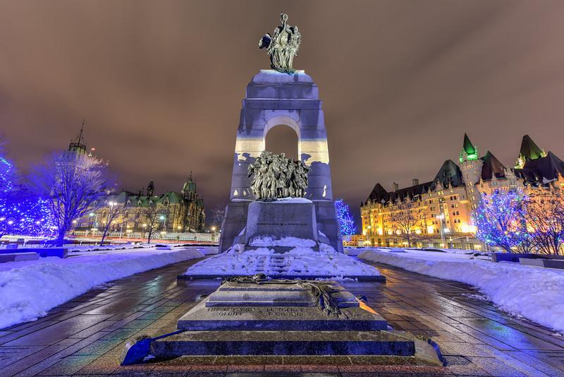 National War Memorial - Ottawa, Canada