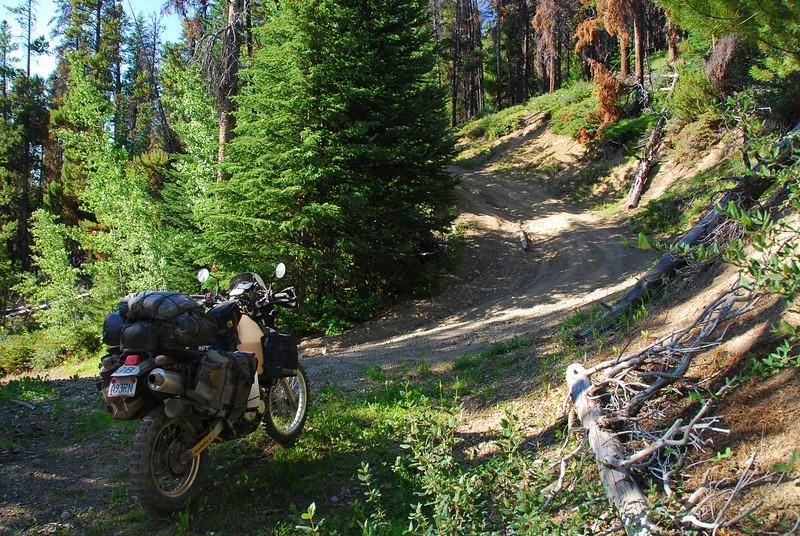 Carpenter Lake - Riske Creek 'Tech Route' (Ride BC Backroads)