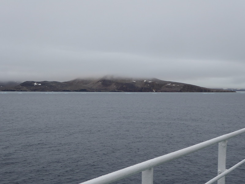 Approaching Cape Hay on Bylot Island. This is a National Bird Sanctuary.