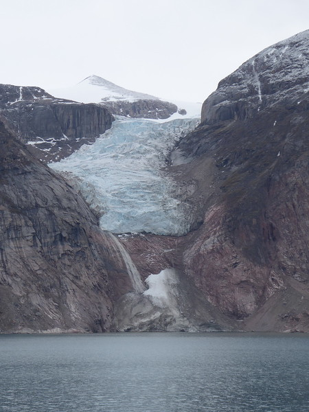 Gibbs Fjord - receding glacier