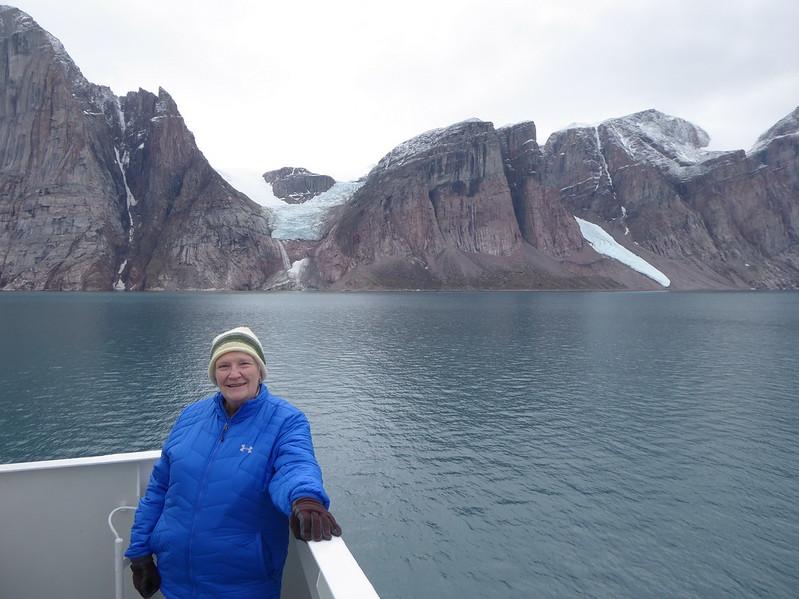 Ann in Gibbs Fjord