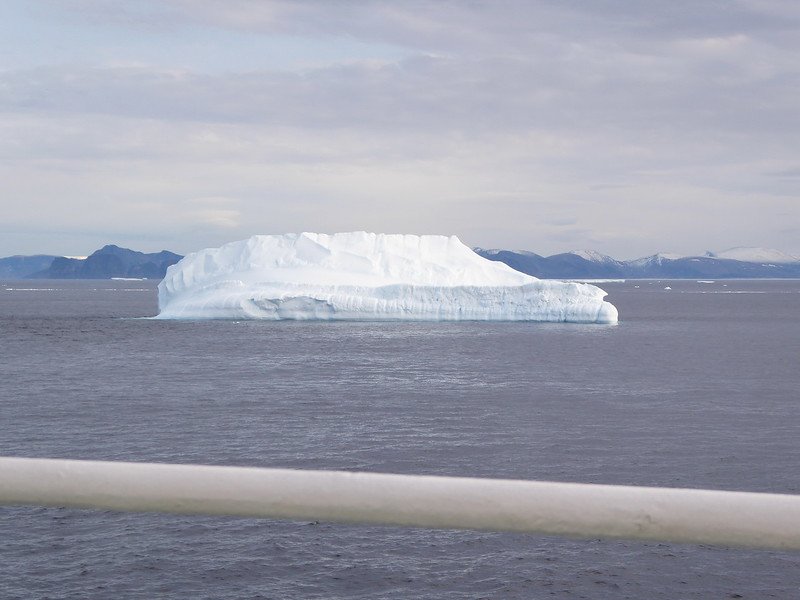Back in Baffin Bay - another iceberg.