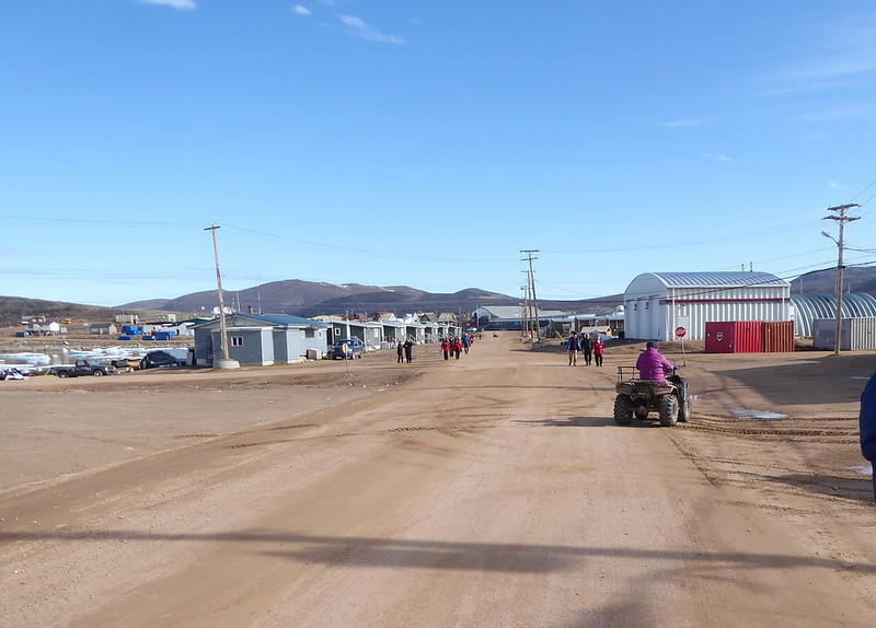Qikiqtarjuaq - the four wheelers are a very popular means of transportation.