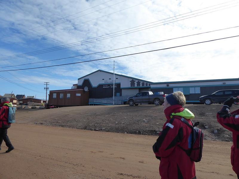 School in Qikiqtarjuaq.