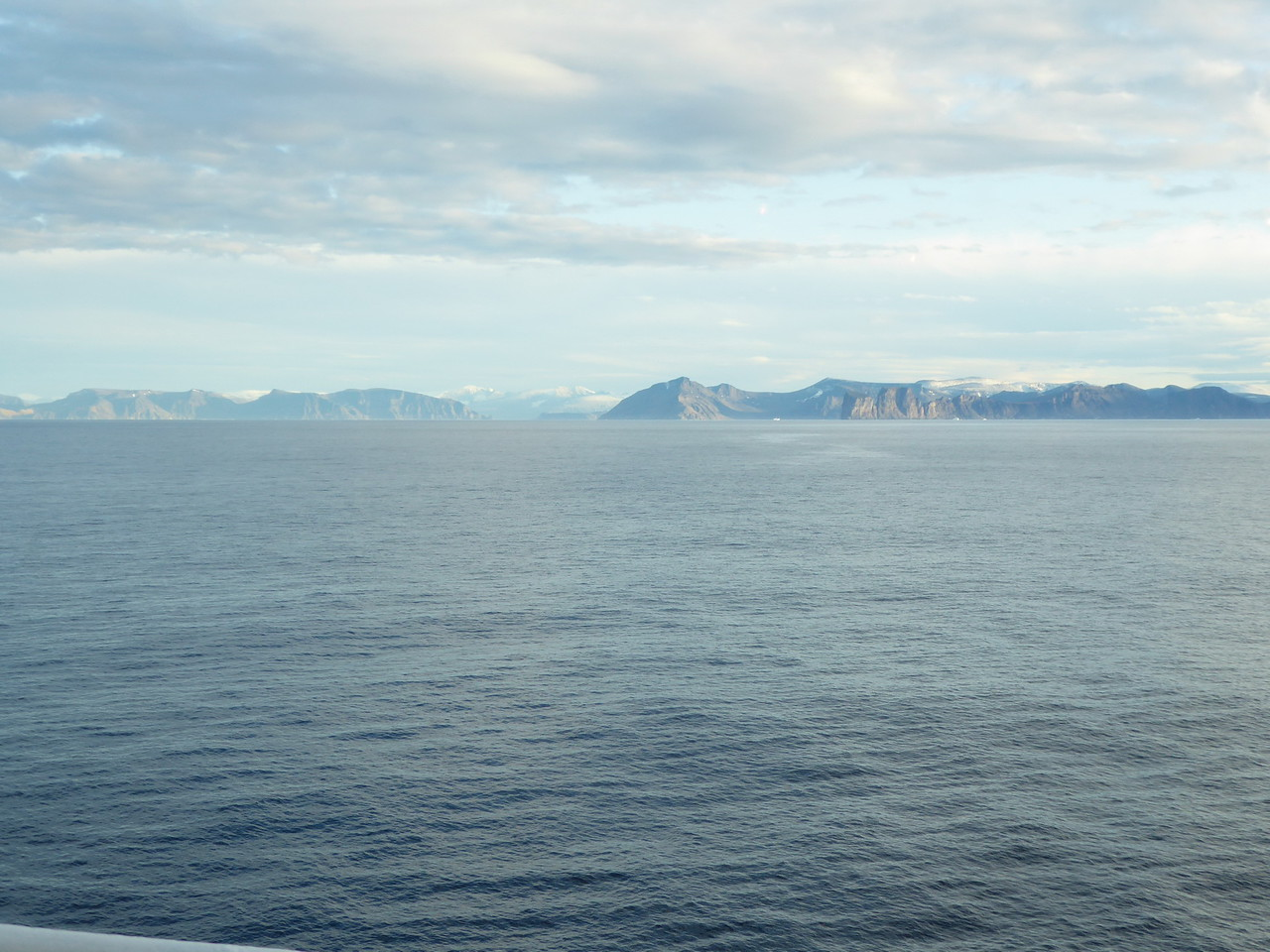 Looking at the edge of Baffin Island from Baffin Bay. Did you know that Baffin Island is twice the size of the UK?