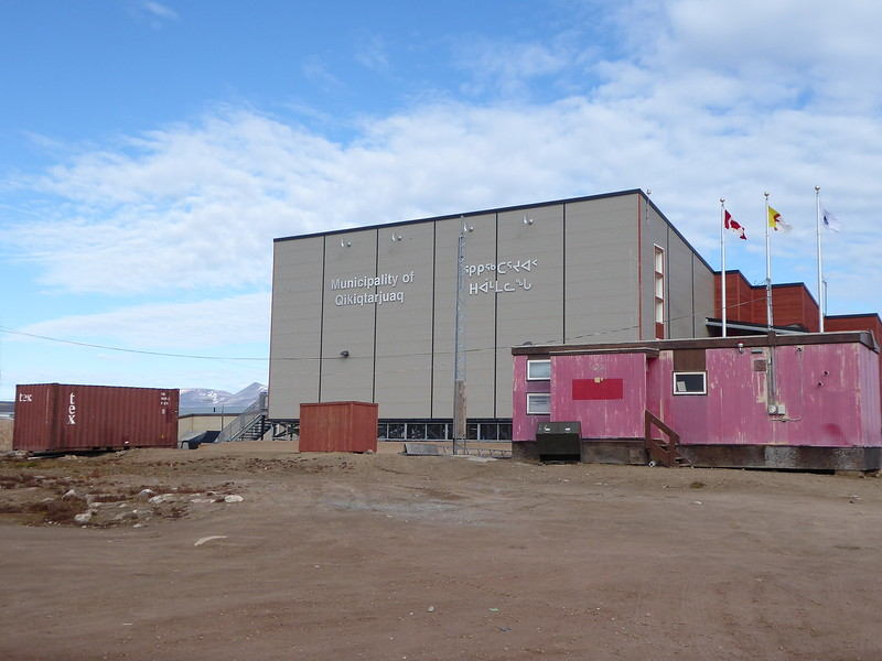 The new community hall in Qikiqtarjuaq.