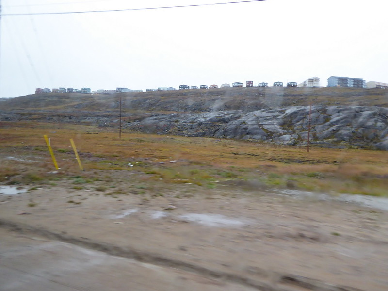 We were taken to the new airport terminal by school bus. These pictures were snapped from the bus.