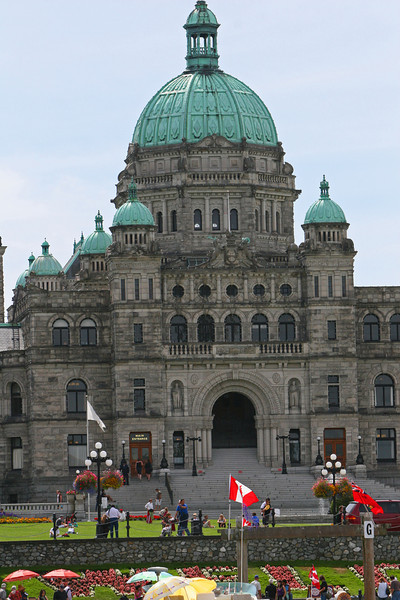 House of Parliment in Victoria.  Home of the Government for the province