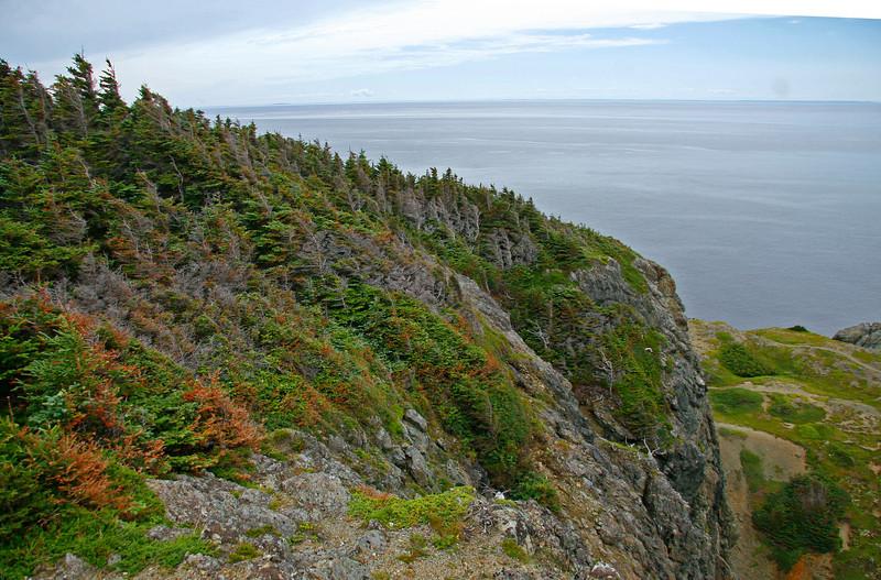 Headland near Crow Point