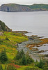 Shore line of the inner harbor of Twillingate