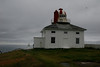 Old lighthouse at Cape Spear. Farthest point east in North America