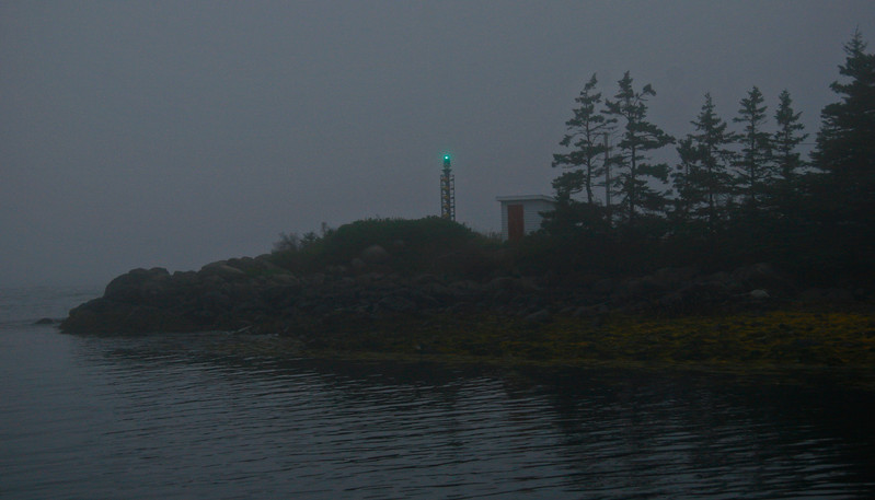 This unmaned light shows fishermen where the harbor is.