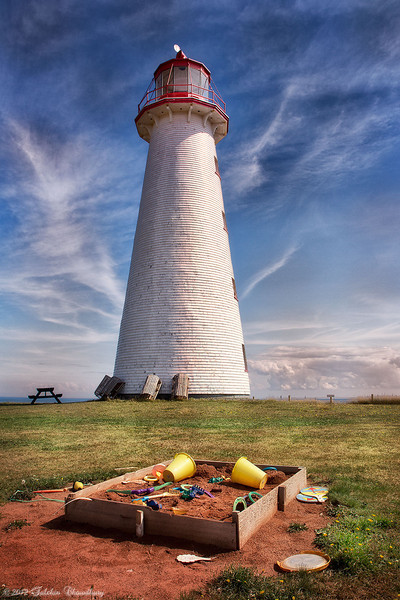 Point Prim Lighthouse.