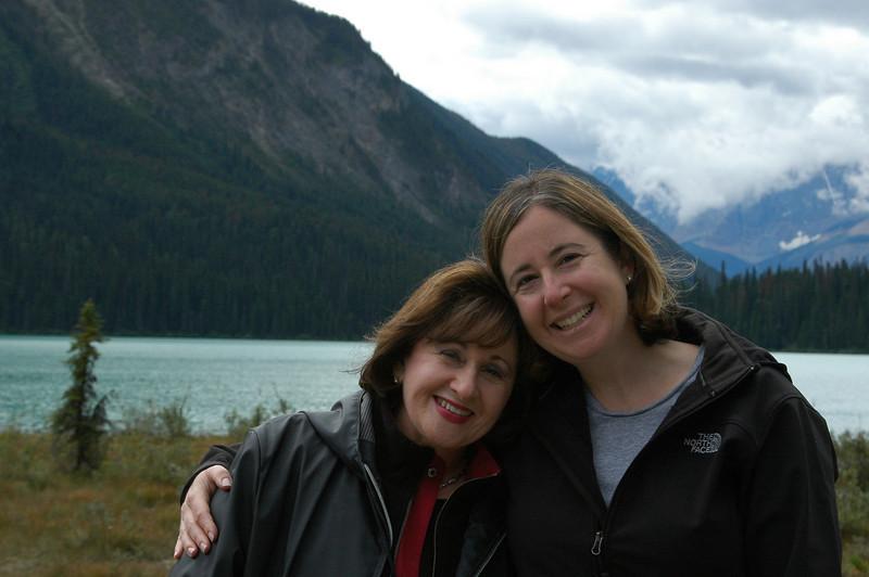 Judy and Sherri at Emerald Lake