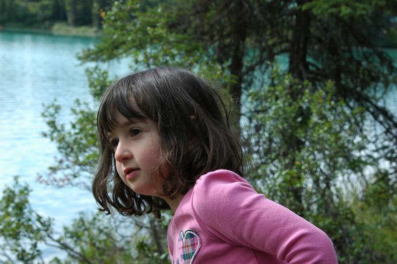 Samantha at Emerald Lake
