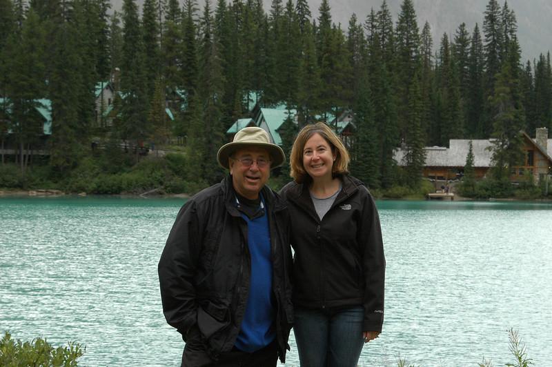 Elliot and Sherri at Emerald Lake