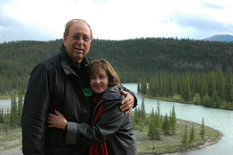 Elliot and Judy at the Tekkara Lodge