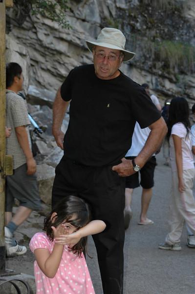 Samantha and Elliot at Johnston Canyon