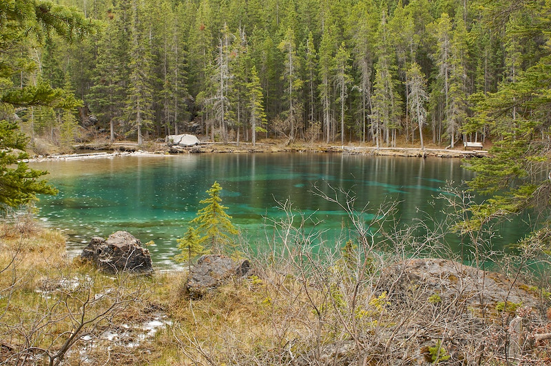 First of the two Grassi Lakes ... got to go back to see the second one dammit.