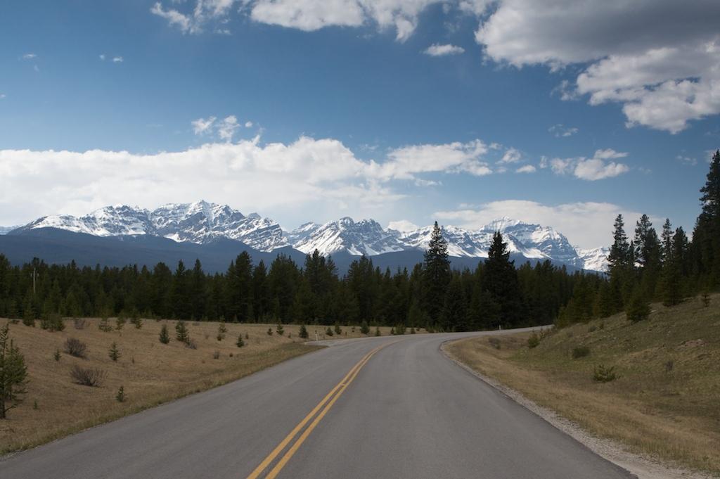 Anywhere in Banff ...