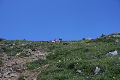 Alternate trail up Mt. Piran next to Mt. Niblock