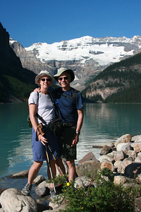 Lake Louise on our 35th Anniversary.