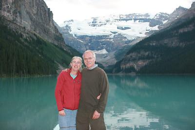 Mitzi & Sheldon at Lake Louise