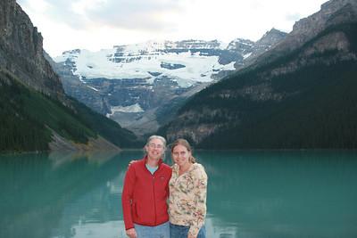 Mitzi & Kjirsten at Lake Louise