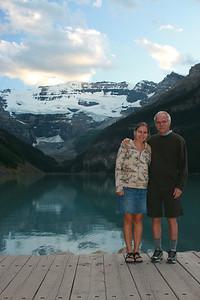Kjirsten & Sheldon at Lake Louise