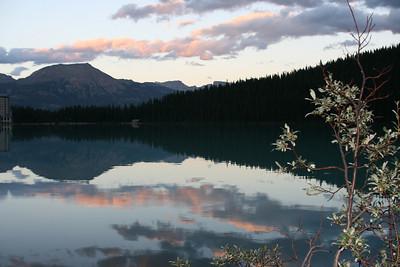 Lake Louise reflection