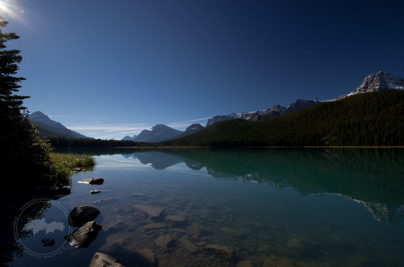 Lower Waterfowl Lake, Banff National Park
