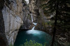 Upper falls at Johnston Canyon, Banff National Park