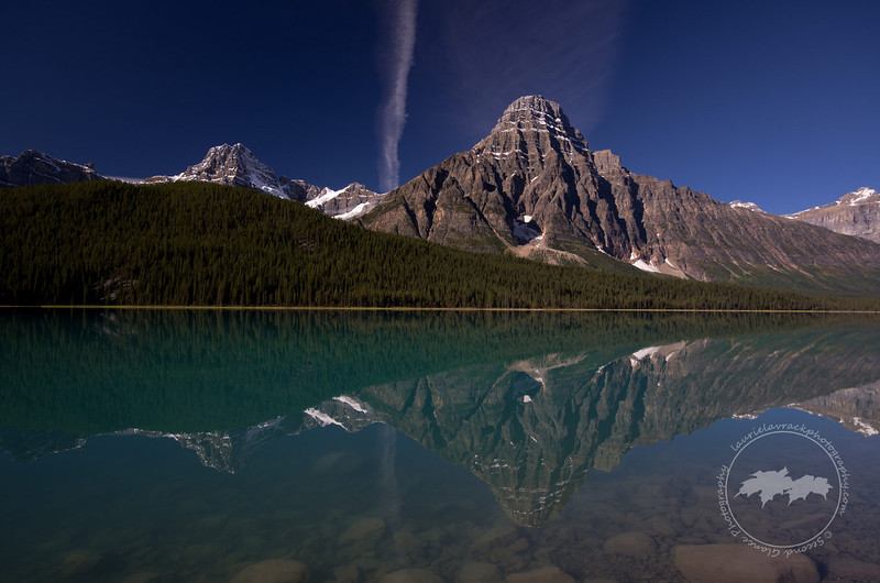 Lower Waterfowl Lake along the Icefields Parkway, Banff National Park