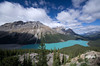 Peyto Lake along the Icefields Parkway, Banff National Park