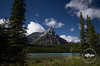 Upper Waterfowl Lake along the Icefields Parkway, Banff National Park