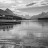 Boat dock, Maligne Lake
