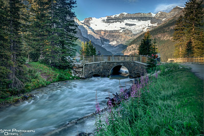 Outflow from Lake Louise